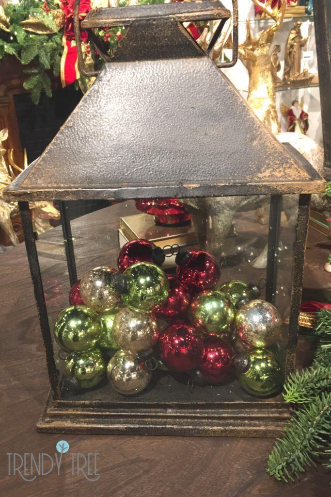 10 Ideas To Fill Your Lantern Decor Silver Christmas