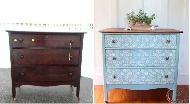 ¿Vas a pintar un viejo mueble? ¡Escoge el azul!