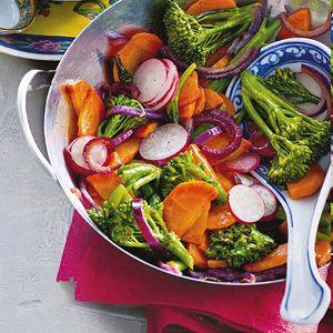2 januari - Kipfilet in de bonus - Recept - Kip teriyaki met groenten - Allerhande