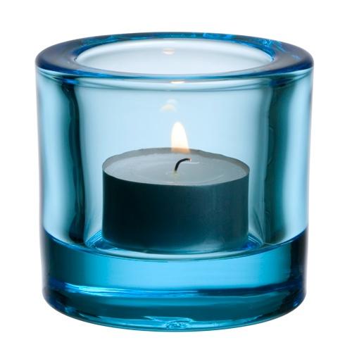 iittala Kivi Candle Holder - Light Blue $15.00