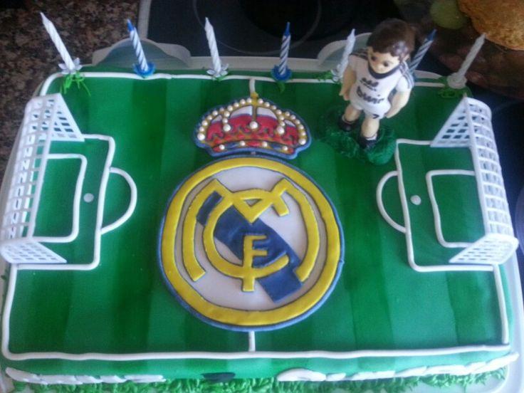 Real madrid cake futbol cakes pinterest cakes real madrid and madrid - Real madrid decorations ...