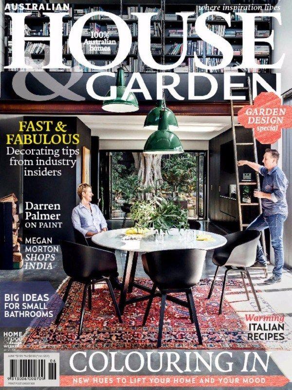 Australian House & Garden Magazine releases its #June2015Issue  with the news/articles on Garden & Bathroom design ideas and #ItalianRecipes .  #AustralianHouseandGarden