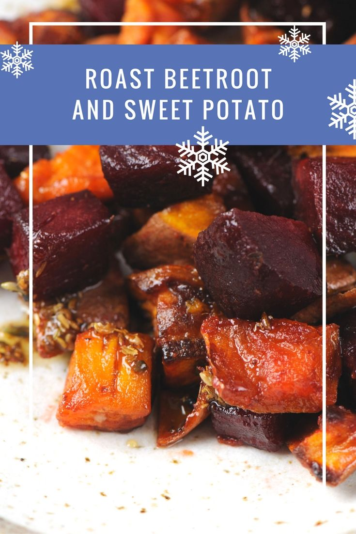 Roast beetroot and sweet potato