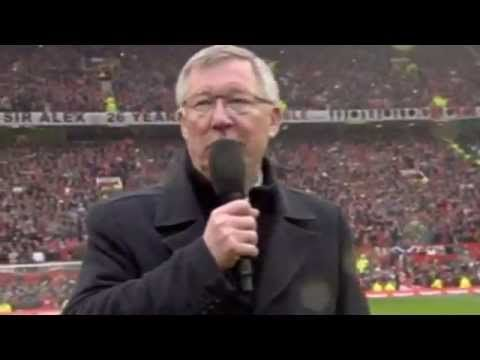 Sir Alex Fergusons final speech