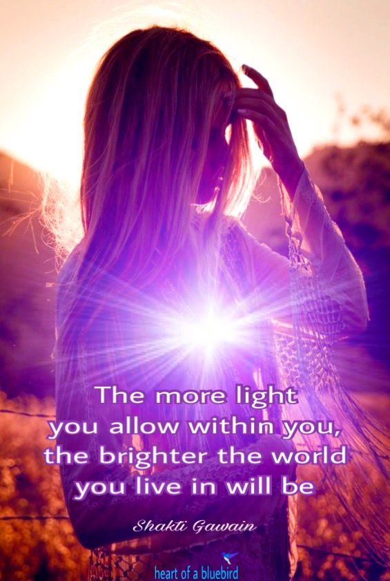 shining our light ...