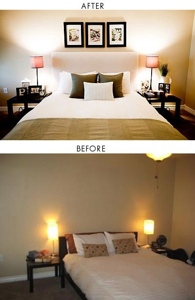 DIY - IKEA Malm Bed Heightened & Padded Headboard. Step-by-Step Tutorial. // Schön umgesetzter #Pimp eines #IKEA #Malm #Betts