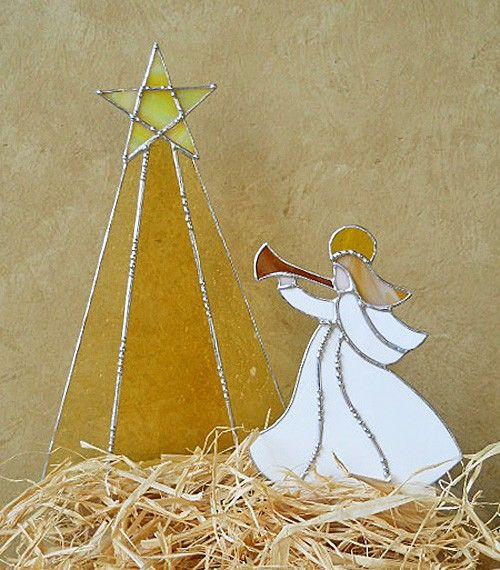 Natividad 16 pedazos de vidrios de colores por wearetheedge