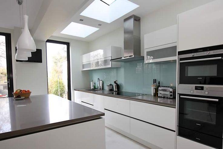 Contemporary German island kitchen design
