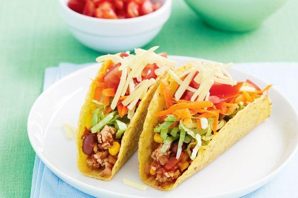 Chicken Tacos Recipe - Taste.com.au