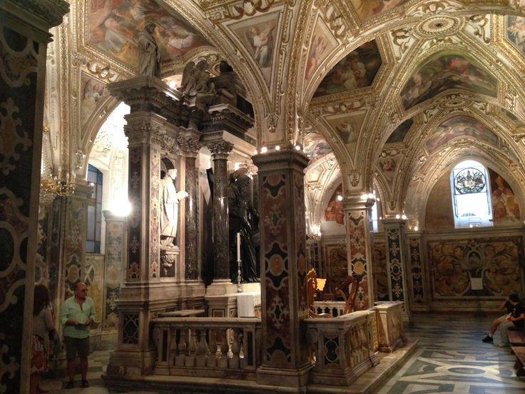 Duomo di amalfi, la cripta
