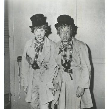 Check out this item at One Kings Lane! Lucille Ball & Harpo Marx
