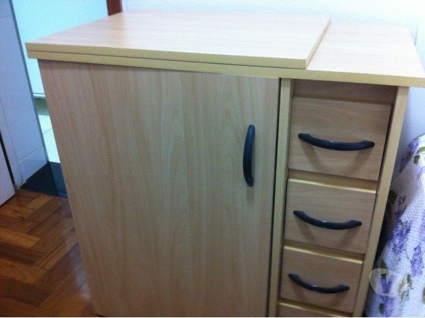 vendo gabinete para máquina de costura
