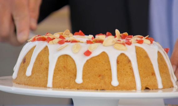 Mary Berry Cherry Cake recipe on The Great British Bake Off