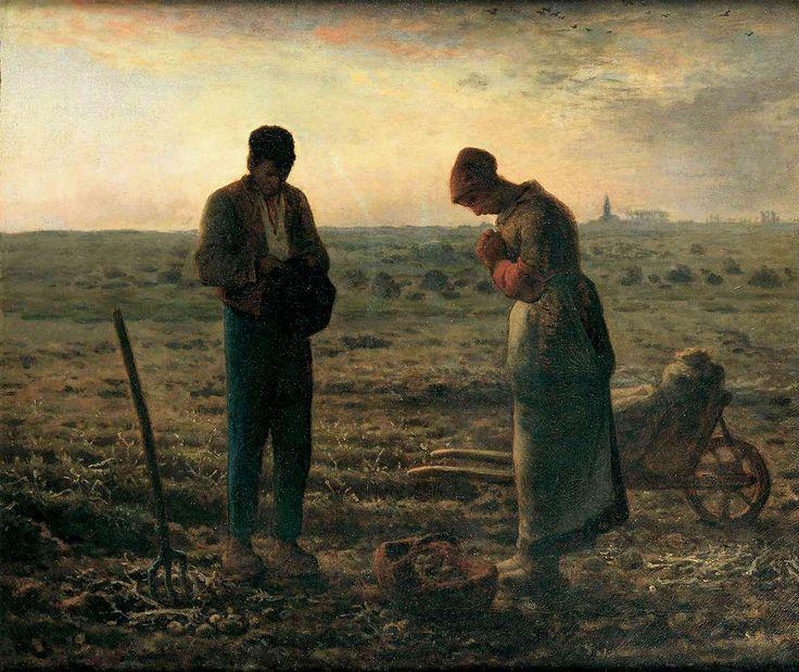El angelus (jean-françois millet, 1859)