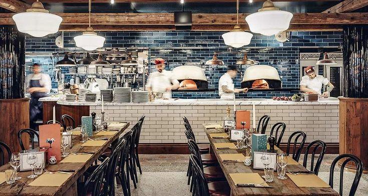 Pizzeria Popolare, le nouvel établissement de Big Mamma, ouvre ce jeudi rue Réaumur, à Paris.