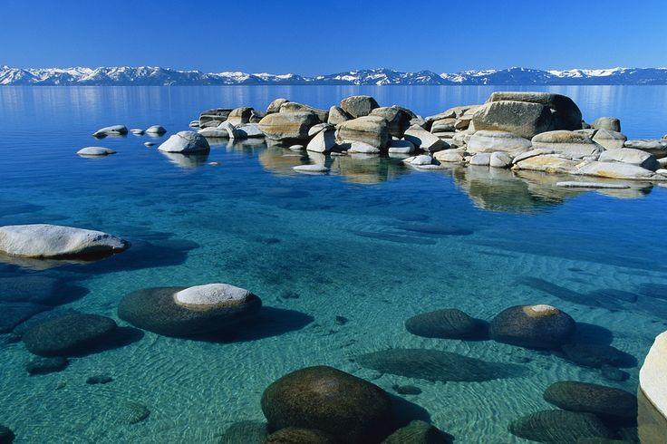 Озеро Тахо, Сьерра-Невада, США