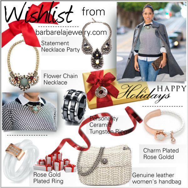 """Wishlist from http://www.barbarelajewelry.com/"" by barbarela11 on Polyvore"
