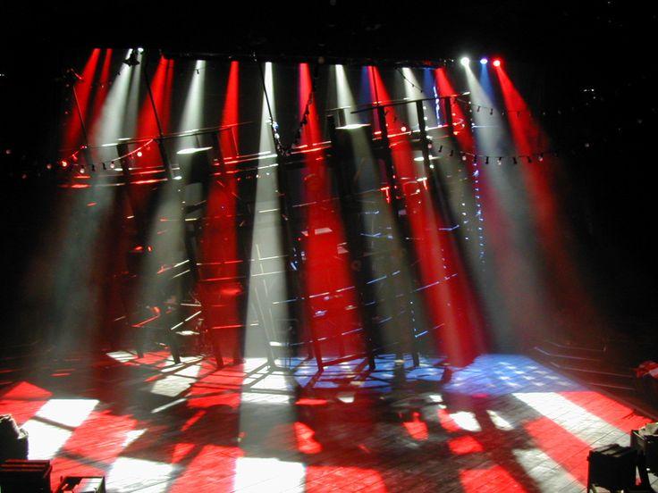 Assassins. Scenic: Peter McKintosh. Lighting: Guy Hoare.