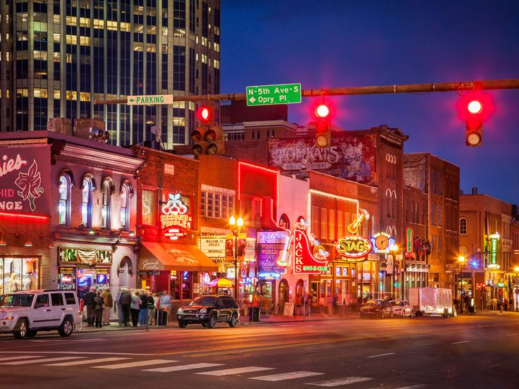 TENNESSEE: GO HONKY TONKIN' IN NASHVILLE. Nashville's music legacy is well known.  Head to Honky Tonk Row—a stretch of Lower Broadway where every bar has legitimately incredible live music, be it country, folk, bluegrass, or top 40 covers, and all ages are out to enjoy it. Let the bourbon-swilling  septuagenarian teach you a thing or two about honky tonkin'.