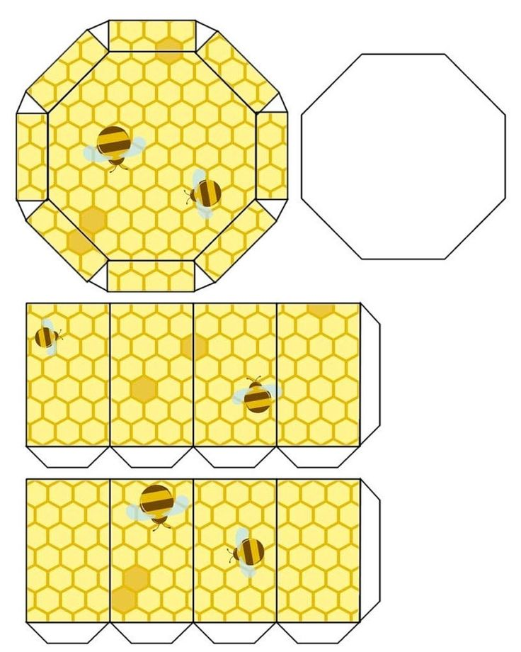 Printable Bee Canister .... free to use ....
