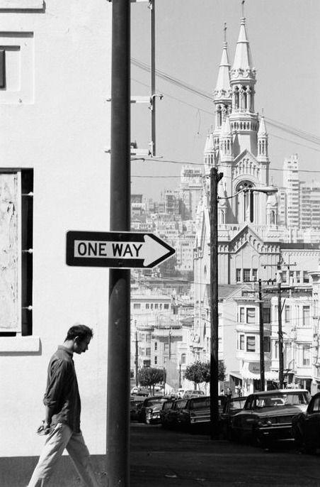 U.S. San Francisco, 1968 // photo by Dennis Stock