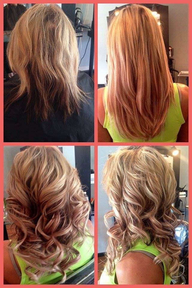 20 best before and afters images on pinterest bangs blondes and ashli at clique hair design used caroline tape in hair extensions fabulous job babe pmusecretfo Image collections