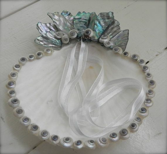 Ring Bearer Pillow Ring Bearer Dish Beach Wedding