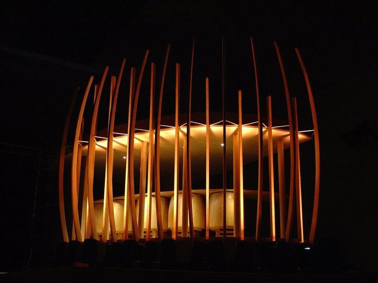 Proyecto Iluminación: – Bodega Clos Apalta, Viña Casa Lapostolle / LLD - Limarí Lighting Design,Maqueta