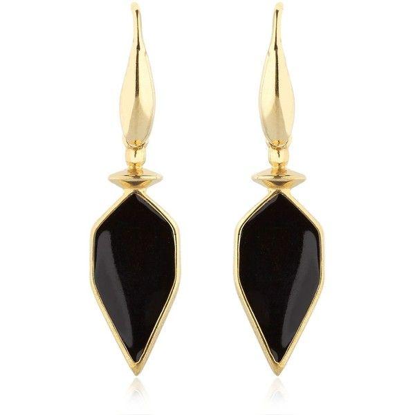 Isabel Marant Women Arrow Earrings found on Polyvore featuring jewelry, earrings, hook earrings, isabel marant, pendant jewelry, hook jewelry and pendant earrings