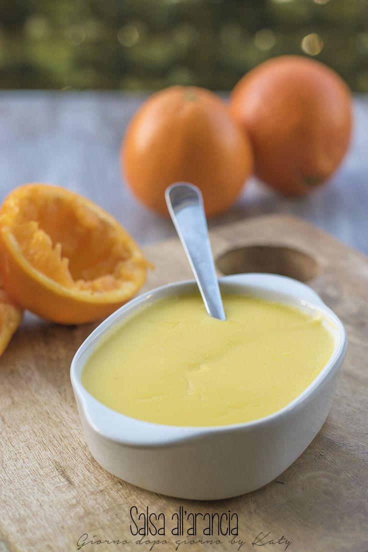 salsa all'arancia condimento per accompagnare carne o pesce