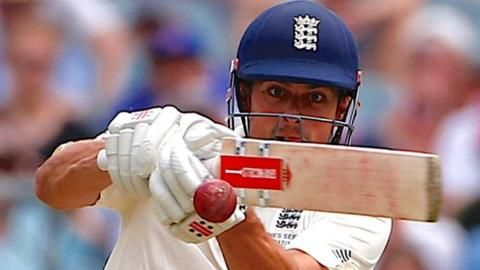 How Alastair Cook's Ashes double century moved him up the all time Test cricket scoring charts - and secured his future as an England batsman.