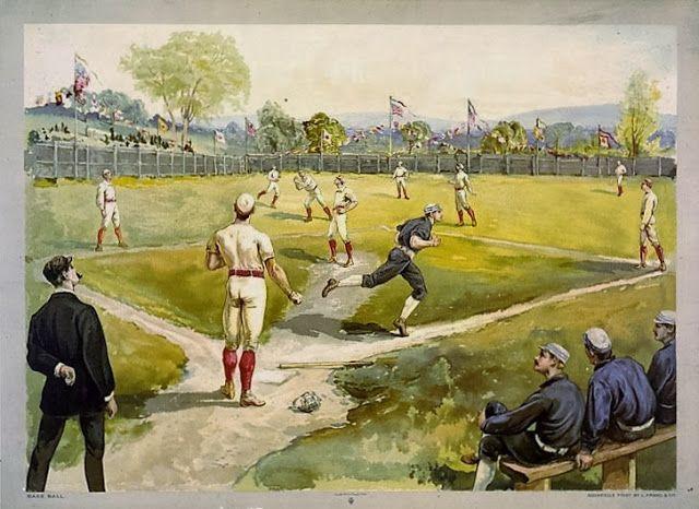 Oorsprong van het honkbal.