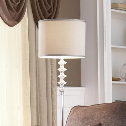 159 stacked glass floor lamp new place lamps for Diy glass floor lamp