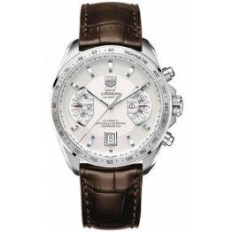 Best TAG Heuer Grand Carrera Calibre 17 RS Automatic Chronograph 43 mm Watch CAV511B.FC6231