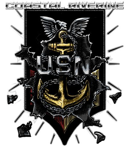 US Navy CPO 365 1st Class to Chief US Navy Riverine Shirt $19.95
