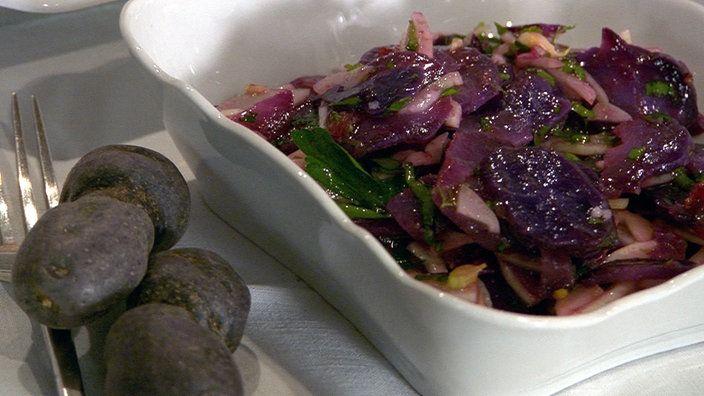 Kartoffelsalat mit Fenchel und Blutorange von Martina & Moritz