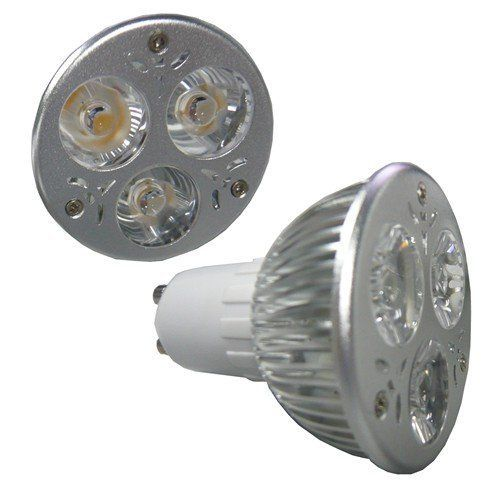 onite 2 x dimmable gu10 led light bulbs high power spotlight equivalent to 60w halogen bulb