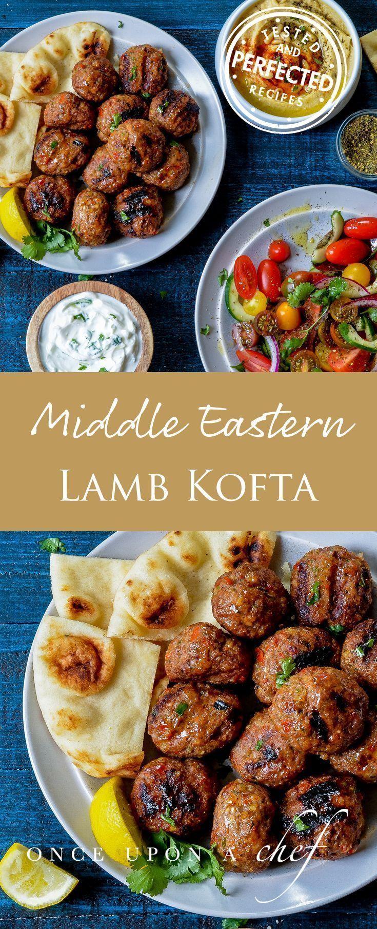 Middle Eastern Lamb Kofta