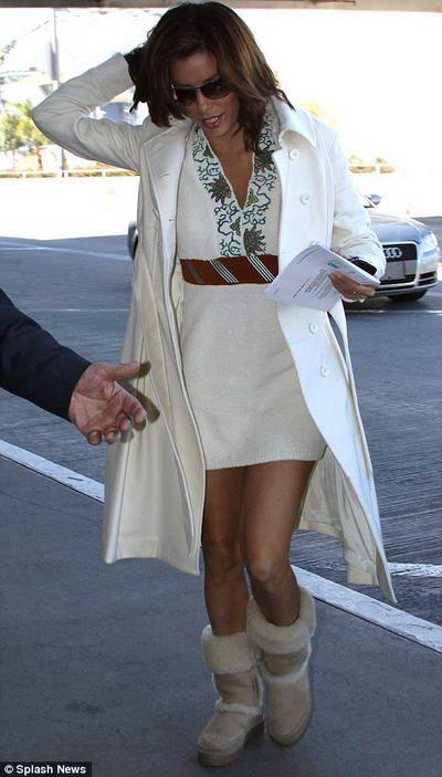 7ecee699d969e5 Gorgeous Eva Longoria in UGG boots summer...so Cali! photo courtesy of Splash  News
