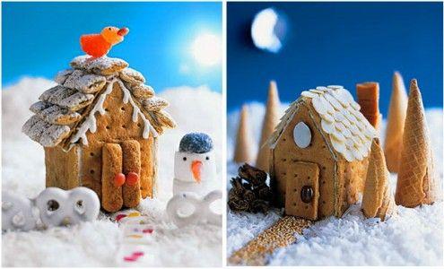 Χριστουγεννιάτικο ζαχαρωτό σπιτάκι | Small Things