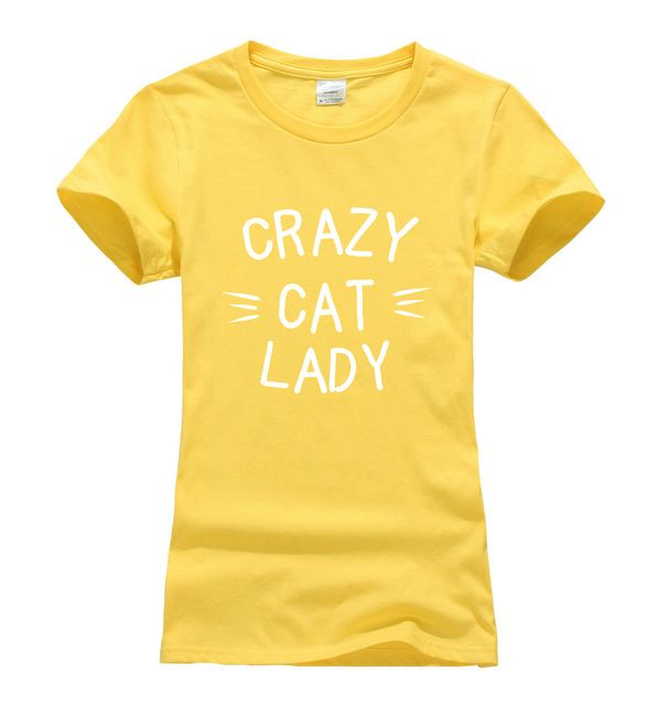 Crazy cat lady impresso feminino t shirt 2017 camiseta de algodão de verão unicórnio Harajuku marca tops t kawaii mulheres t camisa do punk sexy em Camisetas de Das mulheres Roupas & Acessórios no AliExpress.com   Alibaba Group