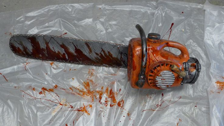 For Halloween, I'm going to show you how I made one of my favorite costumes. The parts and tools needed to build your own Evil Dead 2 chainsaw are all actually pretty reasonable. In this guide, I'm going to walk you through my process of building one, in which a key piece was replicated using 3D printing.