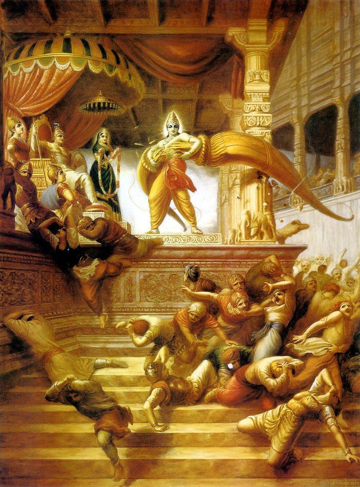 Lord Rama Broke Shiva Dhanush