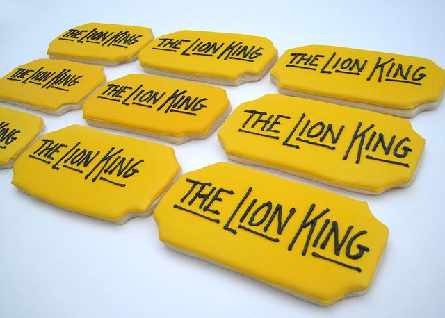21 best images about lion king cookies on pinterest