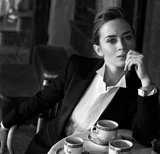 Emily Blunt by Peter Lindbergh - More at http://cine-mania.it