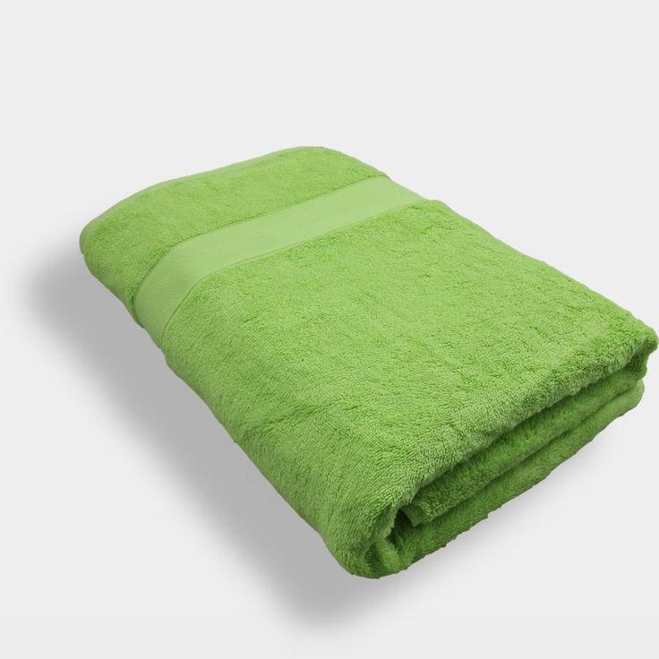 Lounge Duschtuch Grün - Kiwi - Repura Online Store