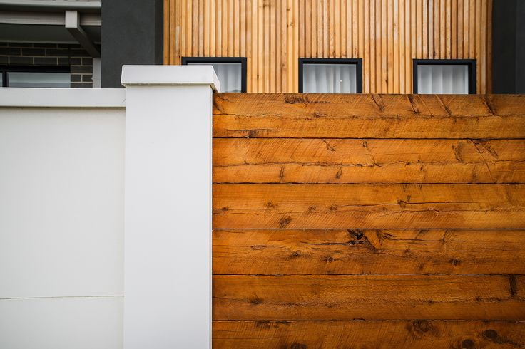 Owning your own gorgeous feature wall doesnt have to be a dream. See how these residents created the ultimate boundary by combining timber infills with the EstaeWall by Modular Wall Systems™.