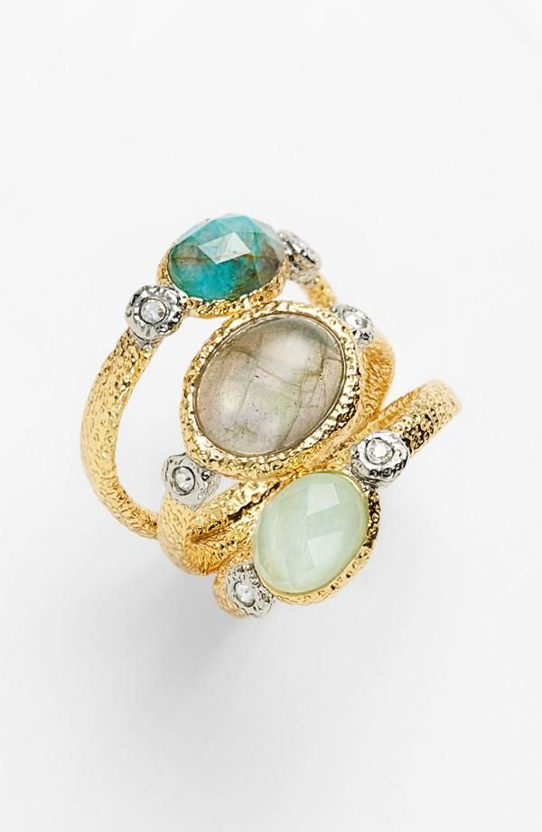 Alexis Bittar 'Elements' Stone Stack Ring