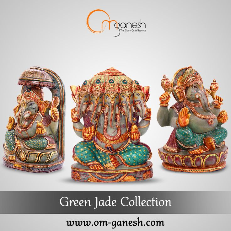 Every idols created from the powerful #GreenJade stone holds immense energy of love, compassion, peace & harmony.