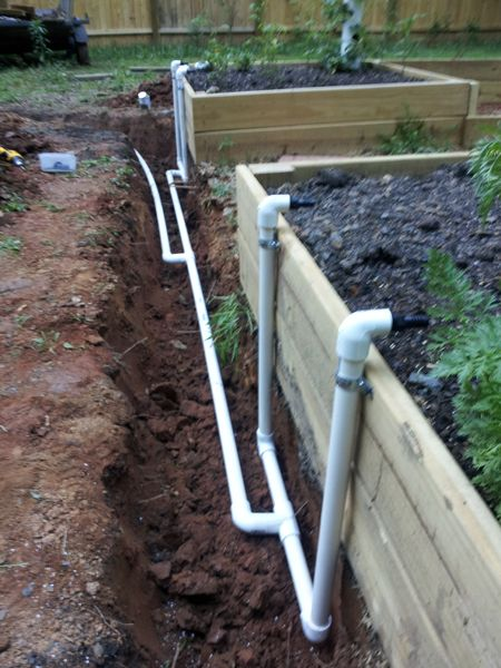 Garden Irrigation Ideas how to install a drip irrigation system in raised beds youtube The Davis Farm In Ground Equal Pressure Raised Bed Garden Automatic Irrigation System